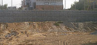 Подпорные стены из габионов, подпорные стенки из габионов