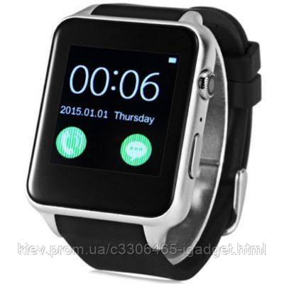 Умные часы King Wear GT88 c SIM картой (Серебристый)