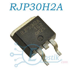 RJP30H2A, IGBT N Channel транзистор 360V 35A, TO263