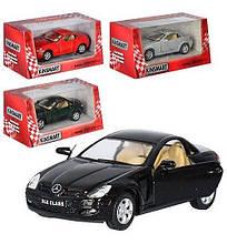 5095 W Машинка жел Kinsmart инер-я, Mercedes benz slk-class