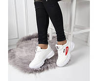Кроссовки женские демисезонные белые  (реплика), фото 1