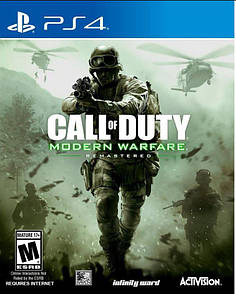 Диск Call of Duty: Modern Warfare. Remastered 2017 [Blu-Ray диск] (PlayStation 4)