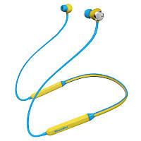 Беспроводные Bluetooth наушники Bluedio TN с 12 часами автономности (Желтый)