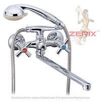 Смеситель для ванны с душем ZERIX DFR-B 722