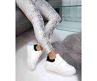 Кроссовки на липучках с черным задником, фото 1