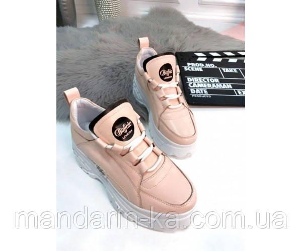 Кроссовки Buffalo London кожаные