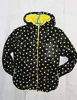 Куртка детская наполнитель синтепон 200 рост(116,122,128см)