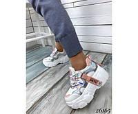 Кроссовки  женские демисезонные Jintu Sports белые  голограмма, фото 1