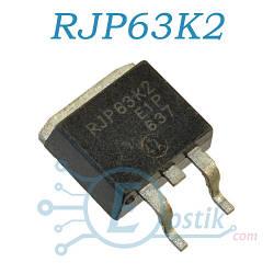 RJP63K2, IGBT транзистор N Channel, 630V 35A, TO263
