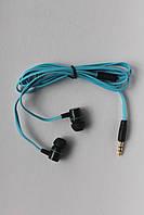Вакуумные наушники Nike Super BASS голубые, фото 1