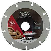 Алмазный диск по дереву Kona Flex 125 х 22,2 Wood with Nails, фото 1