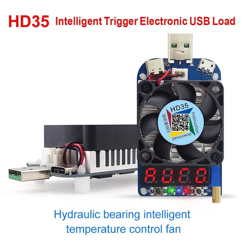 Usb электронная нагрузка RIDEN HD35