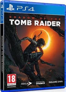 Диск Shadow of the Tomb Raider [Blu-Ray диск] (PlayStation 4)