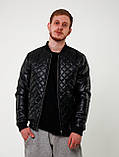 Стеганная мужская весенняя куртка, фото 3