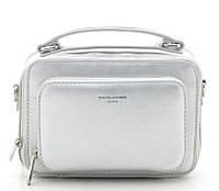 Женский клатч D.Jones 3966 silver David Jones (Дэвид Джонс) - оригинальные сумки, клатчи и рюкзаки