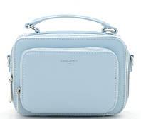 Женский клатч D.Jones 3966 pale blue David Jones (Дэвид Джонс) - оригинальные сумки, клатчи и рюкзаки