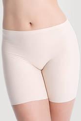 Панталоны женские бесшовные от натирания бёдер бежевые бесшовные шорты трусы-панталоны Julimex COMFORT