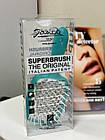 Расческа для волос Janeke 1830 Superbrush The Original Italian Голубая-белая, фото 2