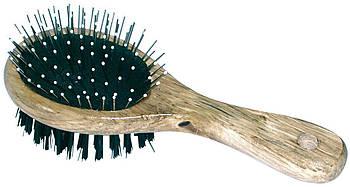 Щетка двойная деревянная, 170х67 мм