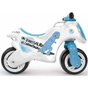 Мотоцикл каталка Діно Іnjusa 19008, фото 2