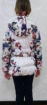 Стильная куртка детская для девочки, фото 3