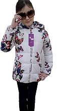 Стильна куртка дитяча для дівчинки