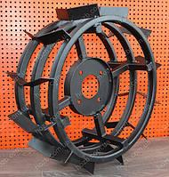 Грунтозацепы для мотоблока (железные колеса) Ø 450