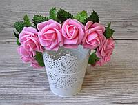 Обруч с розовыми цветами роз - 175 грн