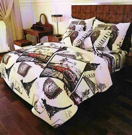 Постельное белье двуспальное 180*220 хлопок (13905) TM KRISPOL Украина, фото 2