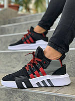 Мужские черные Кроссовки Adidas EQT Bask ADV(реплика)