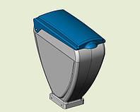 Бункер зерновой высевающего аппарата сеялки СУПН (пластик) Н 126.13.150, фото 1