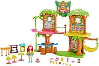 Игровой набор Дом Enchantimals Junglewood Café Тропическое кафе Энчантималс с попугаем какаду Пикки (GFN59), фото 1