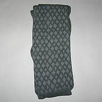 Колготки женские вязаные узорчатые (серые), фото 1