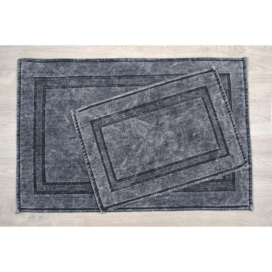 Набор ковриков Irya - Empera k.gri серый 60*90+40*60
