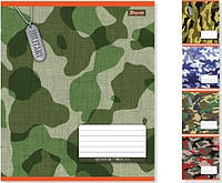 Тетрадь ученическая А5/60 клетка 1 Вересня МИЛИТАРИ -15, фото 1