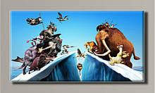 """Картина на холсте """"Ледниковый период 2"""" для интерьера"""