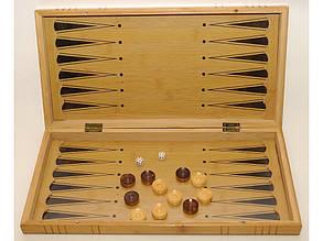 I5-49 Шахматы 3 в 1 бамбук, фото 2