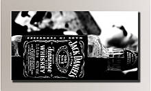 "Картина на холсте ""Jack Daniel's"" для интерьера"
