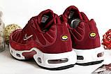 0377 Кроссовки Nike вишневого цвета. 39 размер - 24,5 см по стельке, фото 5