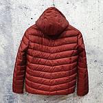 Чоловіча куртка vinyl Black C19-1528, фото 3