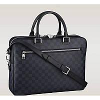 Мужская кожаная сумка Louis Vuitton