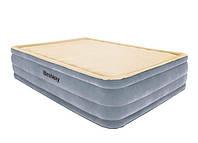 Надувная кровать Bestway 67486, 152 х 203 х 46 , встроенный электронасос