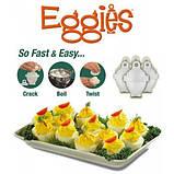Яйцеварка-формы для варки яиц без скорлупы Eggies, фото 5
