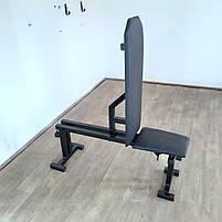Лавка для жима регульована,  до 300 кг, фото 6