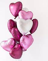 Шарики воздушные  гелиевые Love (Букет из шариков)