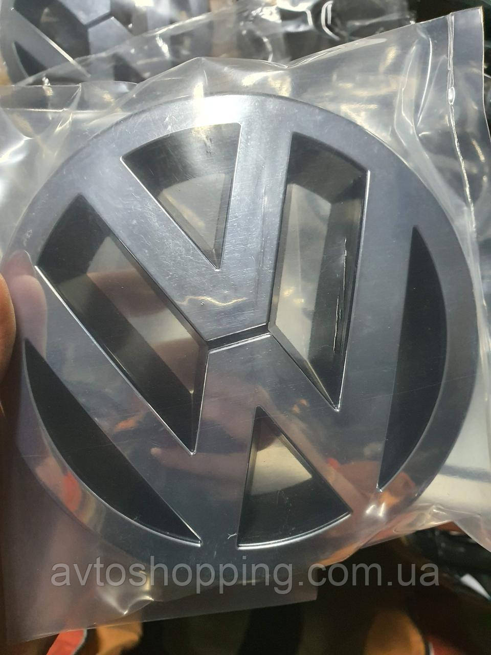 Емблема значок на решітку радіатора Volkswagen VW PASSAT B6, 13 см