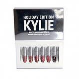 Помада в стиле Kylie 8613 silver Kylie Birthday Edition.Помада Кайли, фото 6