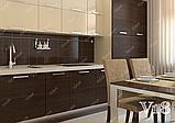 Угловая кухня под заказ изготовление по индивидуалному проекту с контрасными мдф-фасадами, фото 4