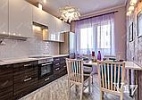Угловая кухня под заказ изготовление по индивидуалному проекту с контрасными мдф-фасадами, фото 8