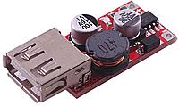 Понижуючий перетворювач USB DC-DC 5-36В на 5В 3А